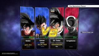 """""""Best Buddies"""" Xenoverse 2 online 2 vs. 2"""