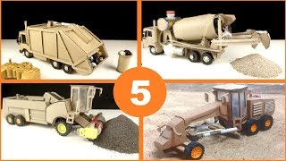 5 Amazing ideas RC Car Trucks from Cardboard