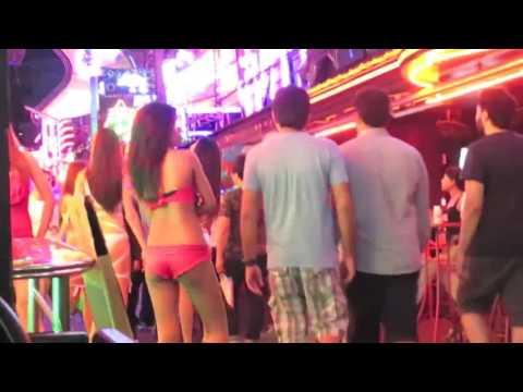 Asian Travel Events Full HD 2016 | Beach Road Pattaya 2015 Thai Girls At Night