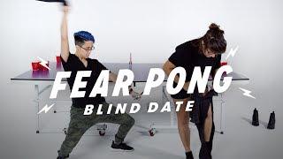 Blind Dates Play Fear Pong (Gina vs. Mic) | Fear Pong | Cut