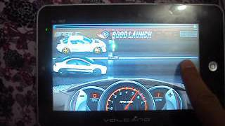 Drag Racing - Tablet Volcano VLC - 786IP