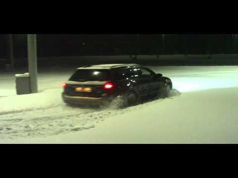 Subaru Outback, 2.5, проходимость зимой