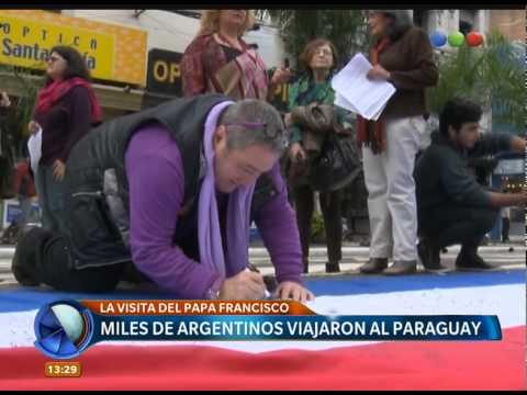 Paraguay espera al Papa - Telefe Noticias