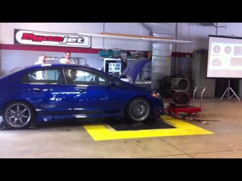 2008 Honda Civic Mugen Si Dyno