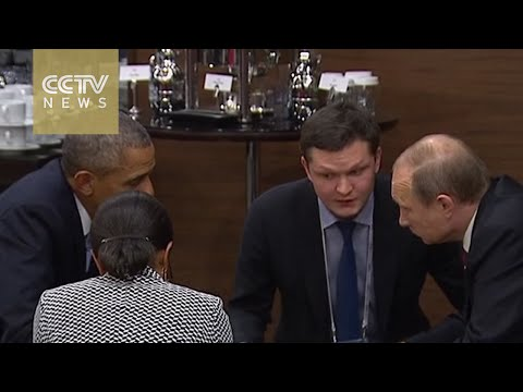 Putin and Obama hold talks on G20 sidelines