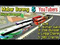 Kocak ! MABAR BUSSID BARENG 5 YOUTUBERS - Part1 | BUSSID CHANEL