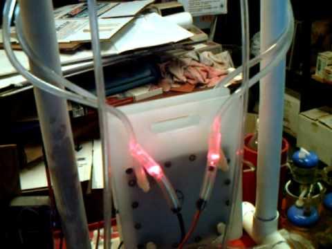 Hydrogen/Oxygen Separator Cell Test