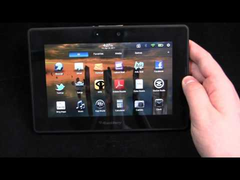 BlackBerry PlayBook Review Part 1