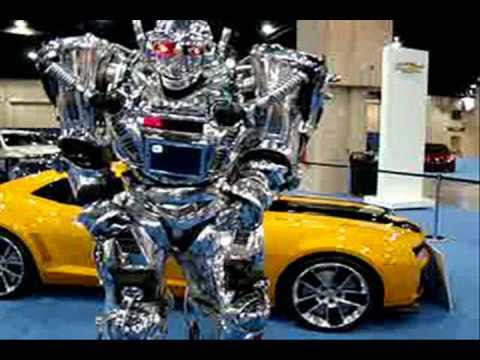Real TRANSFORMER Car With KING ROBOTA