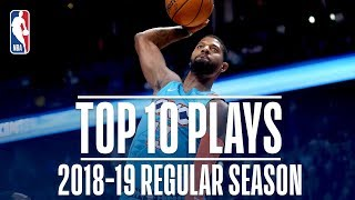 Paul George's Top 10 Plays of the 2018-19 Regular Season
