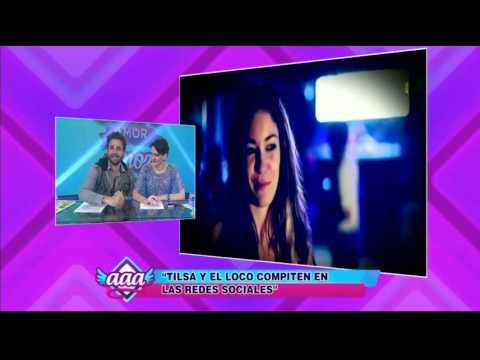 Tilsa Lozano y el 'Loco' Vargas compiten en las redes sociales