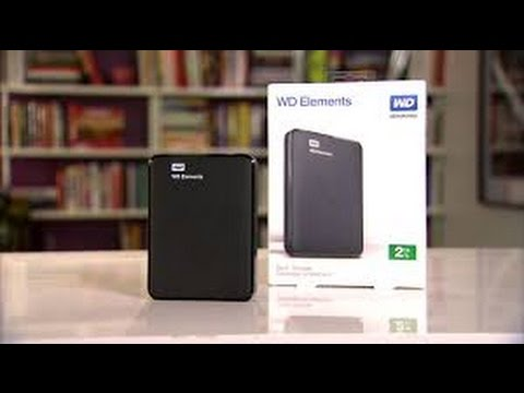 WD Elements Unboxing, Pairing & Transferring Apps On PlaySation 4