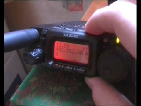 Yaesu FT-817 Look around