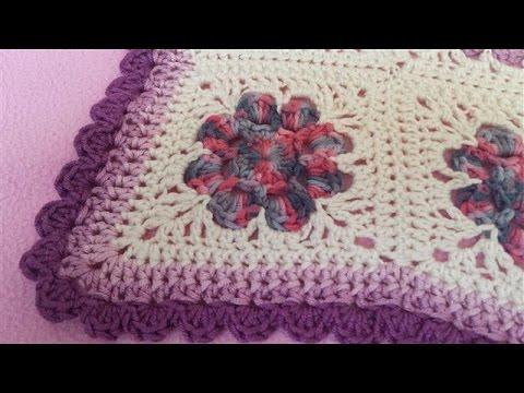 Daisy Granny Square Blanket Pattern Daisy Granny Square Blanket