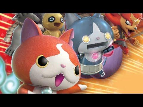 8 Minutes of Yo-kai Watch Blasters Gameplay