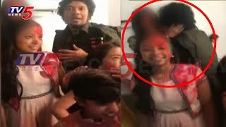 Exclusive Visuals: Singer Papon Kissing A Minor Girl In Facebook Live
