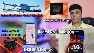 Tech Up's #439 - Redmi K20 hands-On, Oneplus 7 Pro, Huawei Ban, MediaTek 5G Chip, TIKTOK, 4K Display