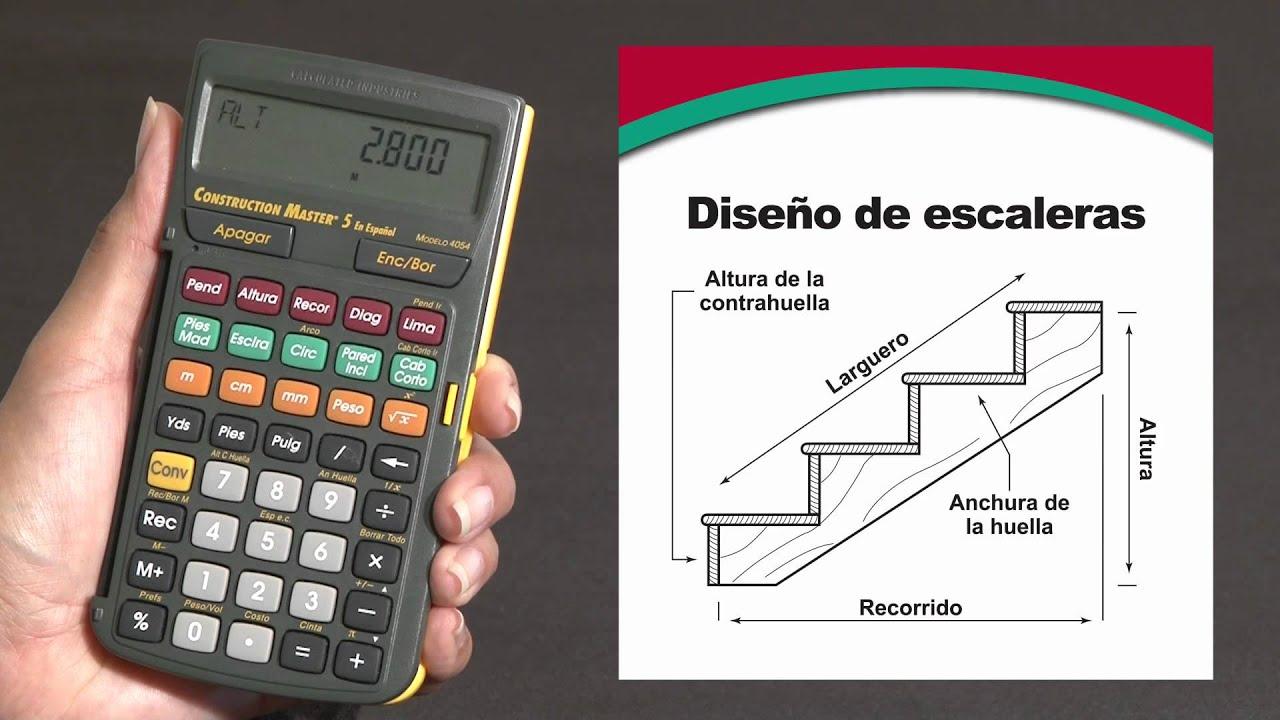 Construction master 5 en espa ol simplifica todos sus for Como trazar una escalera de metal