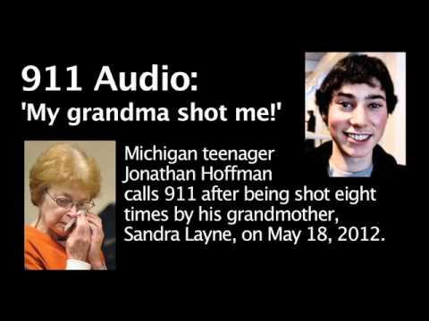 911 Audio: 'My grandma shot me!'