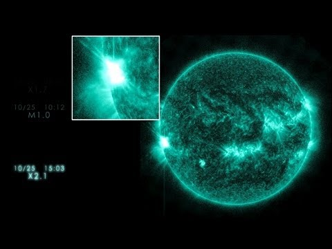 NASA | Five Days of Flares and CMEs