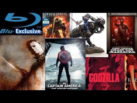 Blu-Exclusive - September 2014 - Transformers 4, Captain America 2, Halloween Complete, Godzilla