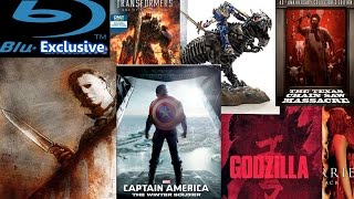 Blu-Exclusive - September 2014 - Transformers 4, Captain America 2, Halloween Complete, Godzilla