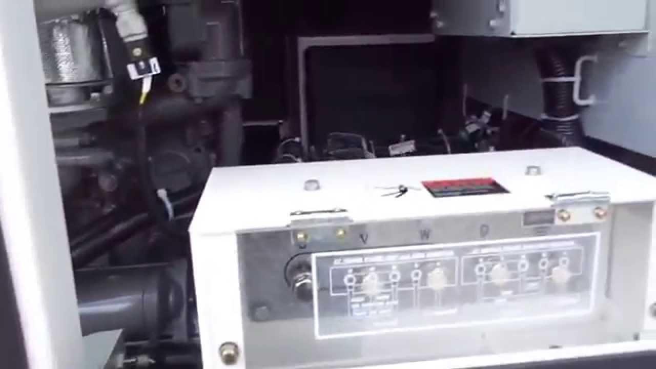 multiquip dca45 portable generator set