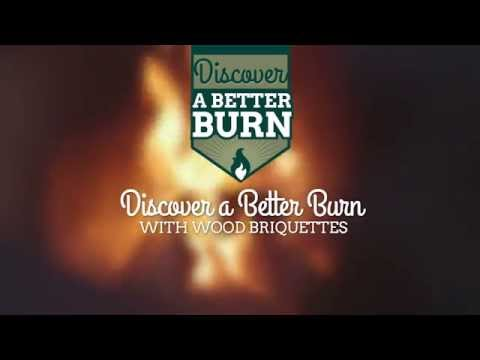 Discover a Better Burn With Wood Briquettes (promo brought to you by RUF)