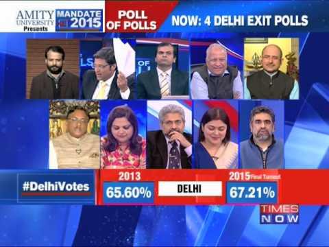 Poll of polls: Delhi election - Part 1