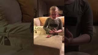 Savannah's magic queen trick