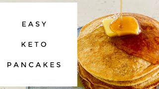 HOW TO MAKE THE BEST KETO PANCAKES || Paleo Low Carb || Quick Easy || Holistic Living Downunder