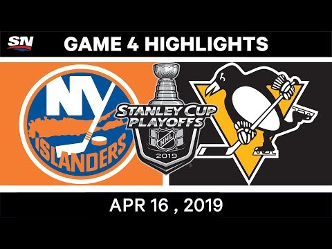 NHL Highlights | Islanders Vs Penguins, Game 4 – April 16, 2019