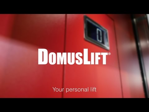 DomusLift S-Small, small lift for the narrowest shafts