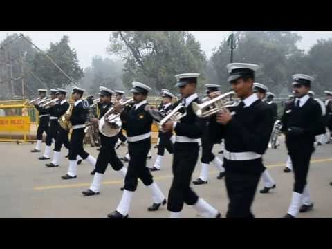 Dress Rehearsal of Republic Day Parade 2014