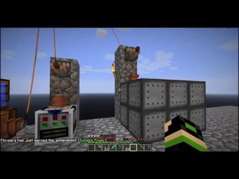 Let's Play Infinity Evolved Skyblock: Episode 9 Obsidian Crushing and Early Thermal expansion