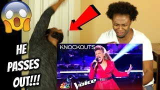 """SandyRedd Continues to Astound with Ariana Grande's """"Dangerous Woman"""" - The Voice 2018 Knockouts"""