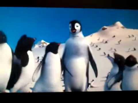 Pingüinos graciosos de la pelicula happy feet.mp4