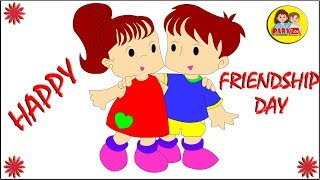Coloring Pages on Friendship Day for Kids | Happy Friendship Day Wishes