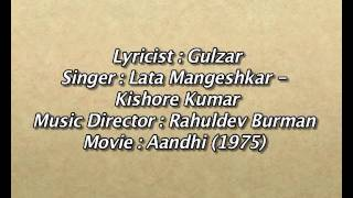 download lagu Tere Bina Zindagi Se Koi  Old Song  gratis