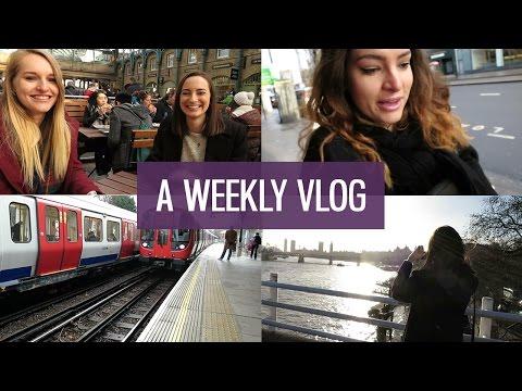 London flat hunting, lunch & shopping: Weekly vlog #1 | CharliMarieTV