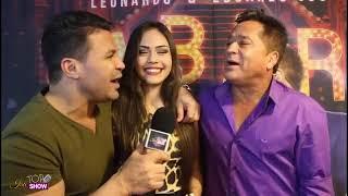 Isabelly Cristine entrevista Eduardo Costa e Leonardo