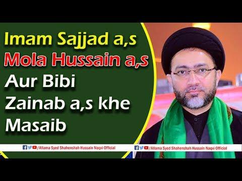Mola Hussain a,s k Masaib by Allama Syed Shahenshah Hussain Naqvi