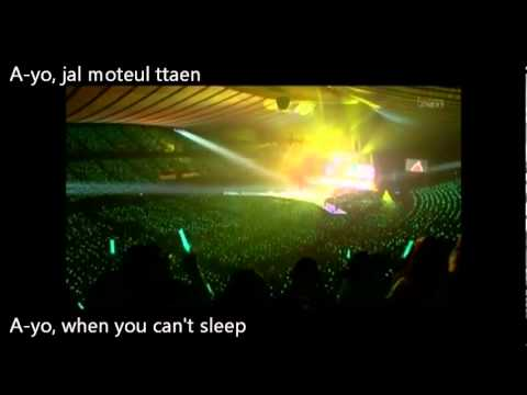 SHINee - Ayo LIVE HD [ENG SUB & ROM]