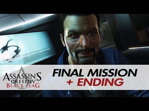 Assassin's Creed IV: Black Flag - Final Mission + Ending + After Credits Scene