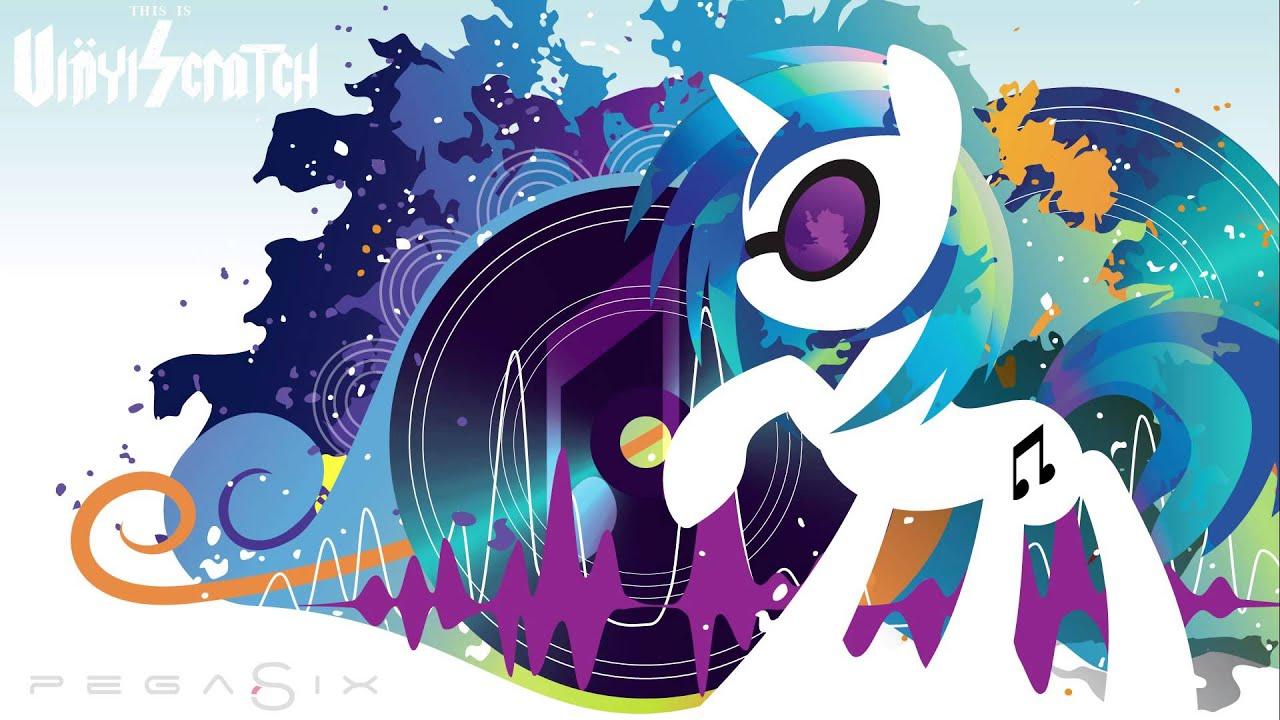 Vinyl Scratch Wallpaper pegaSix - This ...