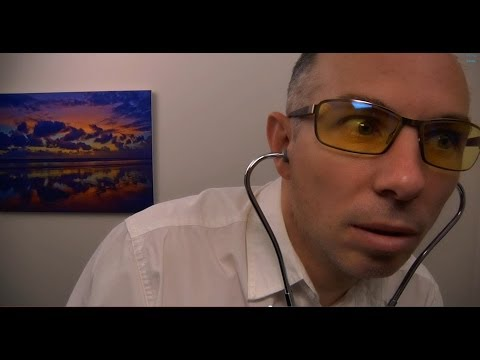 ASMR - Role Play Dr Dmitri Consultation for Stomach Ache