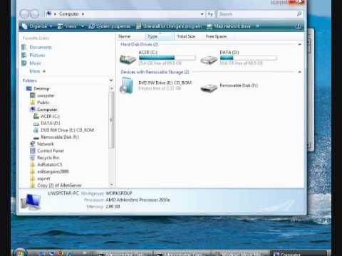 how to put windows 7 on a usb stick