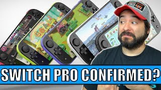 TWO NEW Switch Consoles in Production? Switch Pro and Switch Mini Confirmed??
