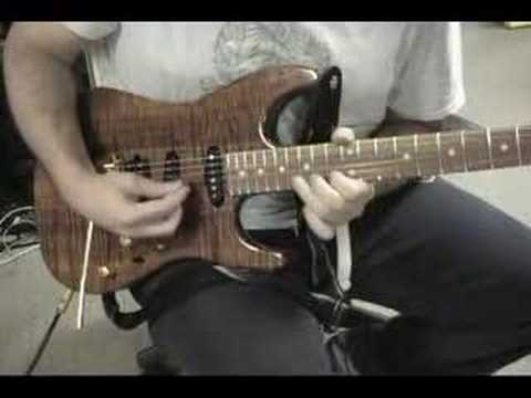 Suhr Reb Beach Guitar Demo