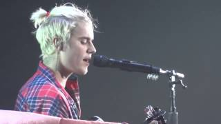 JUSTIN BIEBER - Home to Mama (Live) Purpose Tour, in Vancouver